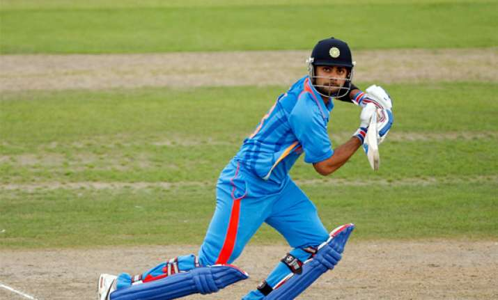 india sneak 5 run win over kent in rain truncated match