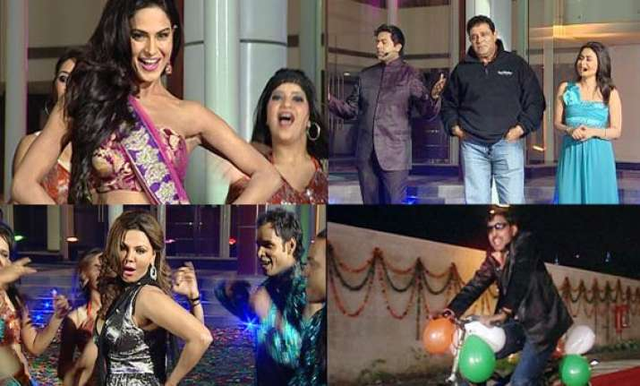 india tv bigg toss off to a rollicking start