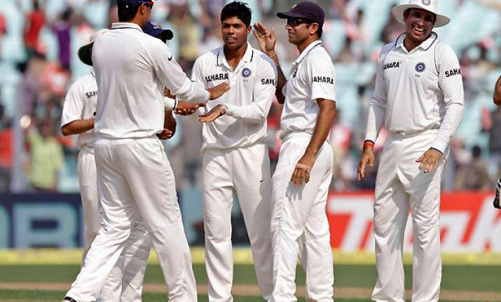 india crushes windies by an innings and 15 runs clinches