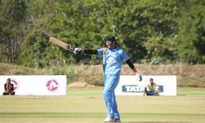india crush bangladesh in t20 for blind tie
