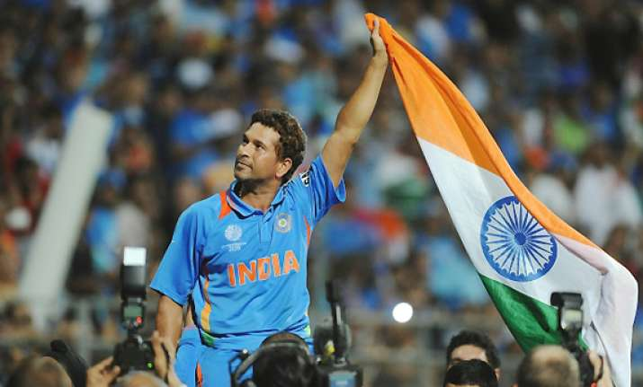 india s world cup win for sachin lights up 2011