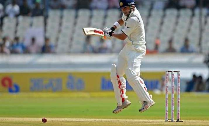 sachin returns to form but india in trouble at 273/7