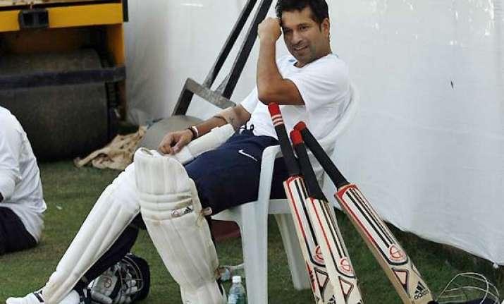 indian team begins training camp sachin tendulkar returns