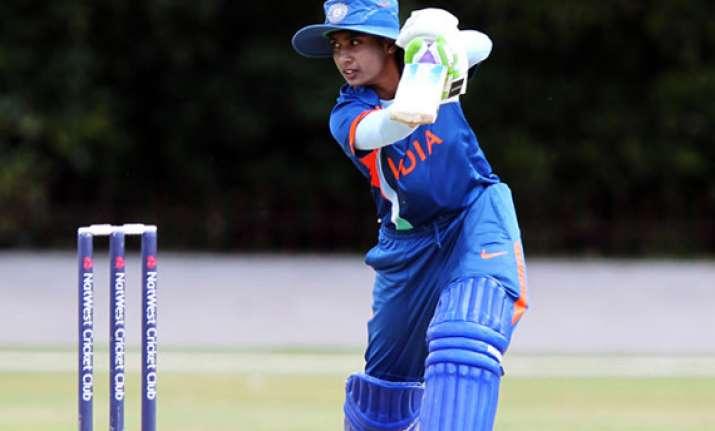 indian women beat bangaldesh by 19 runs in first t20