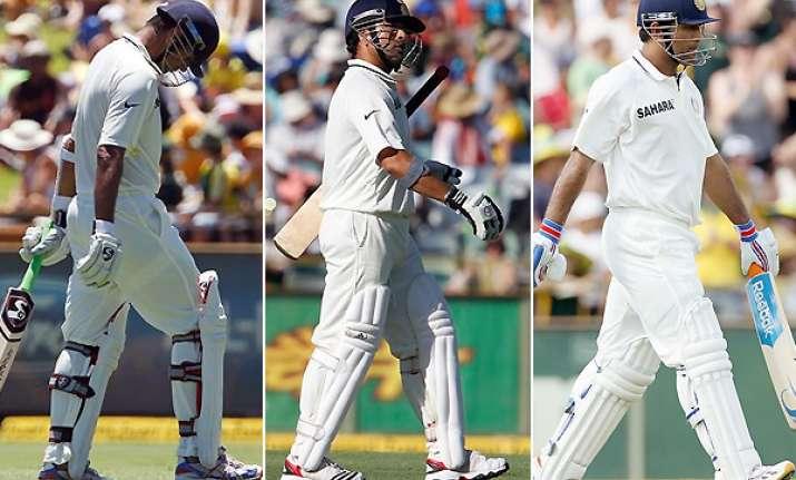 indian batsmen useless rubble dhoni passive captain oz media