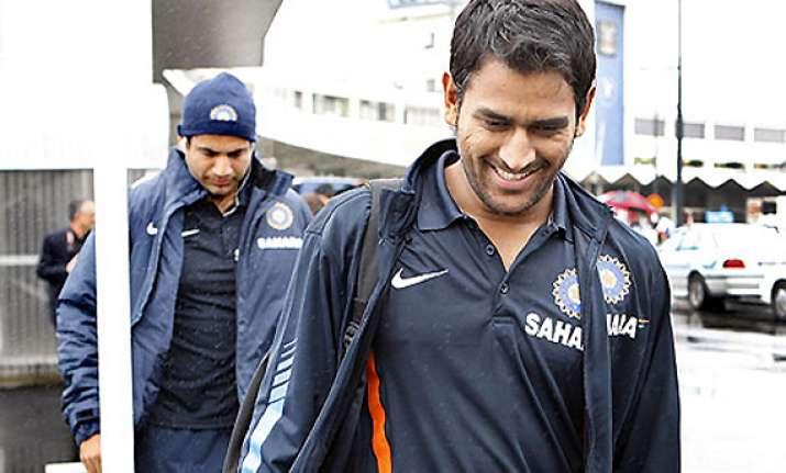 indian team arrives in australia