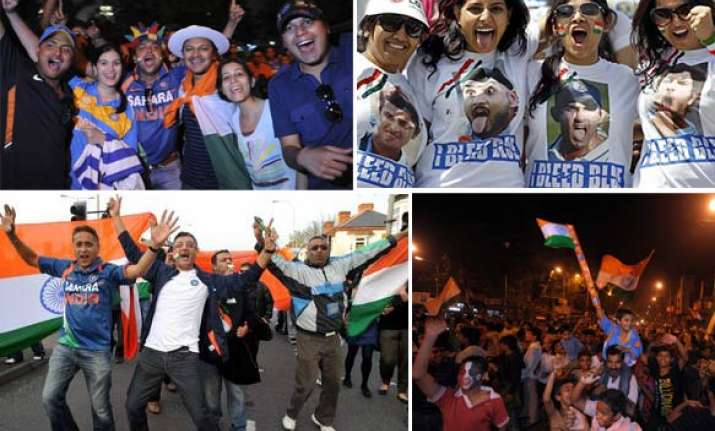 indians celebrate wc win across the world