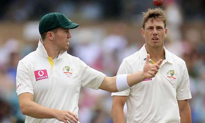 injured aussie bowlers siddle pattinson returning home