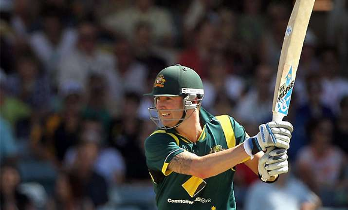 injury forces clarke out of australia s next odi