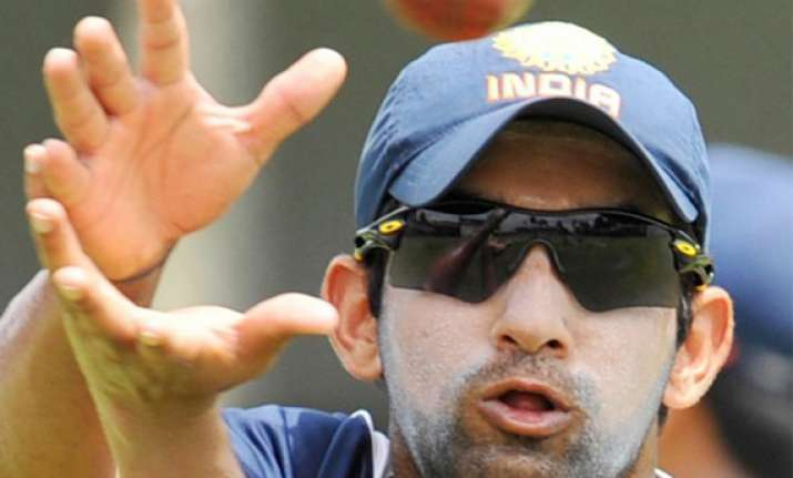 injury worry continues for gautam gambhir