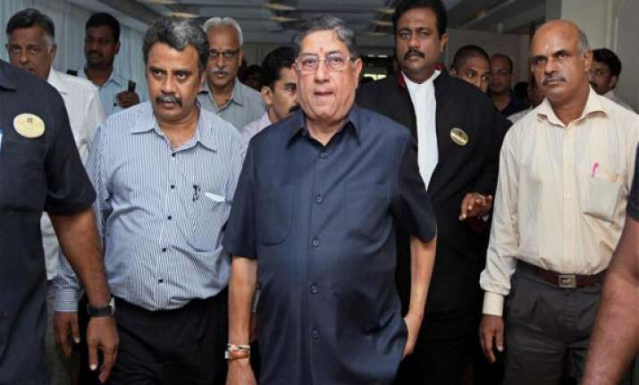 inside story of bcci meet nobody asked for srinivasan s