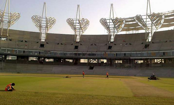 international cricket stadium inaugurated near pune