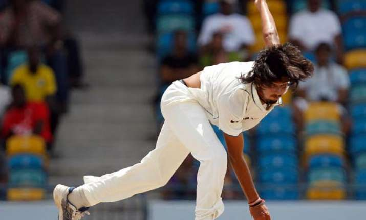 ishant plans to wrap up windies tail early on day 5