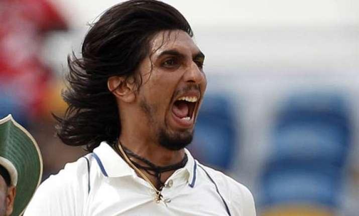 ishant s career best 6/55 gives india slender lead