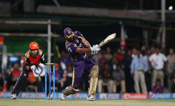 ipl7 exceptional pathan knock takes kkr to 2nd place