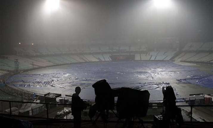 kkr dc ipl match abandoned due to heavy rains