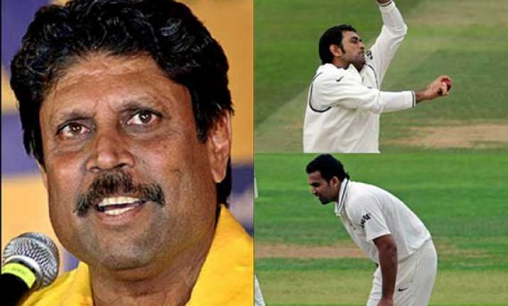 kapil dev lashes out at dhoni zaheer