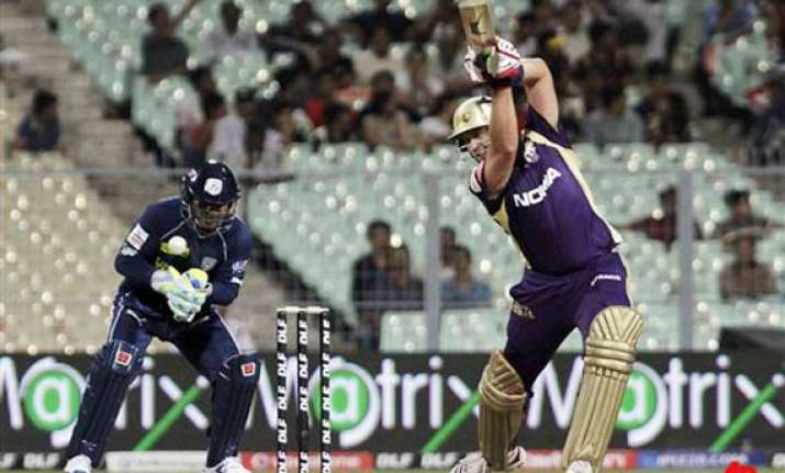 kallis shines as knight riders open account in ipl iv