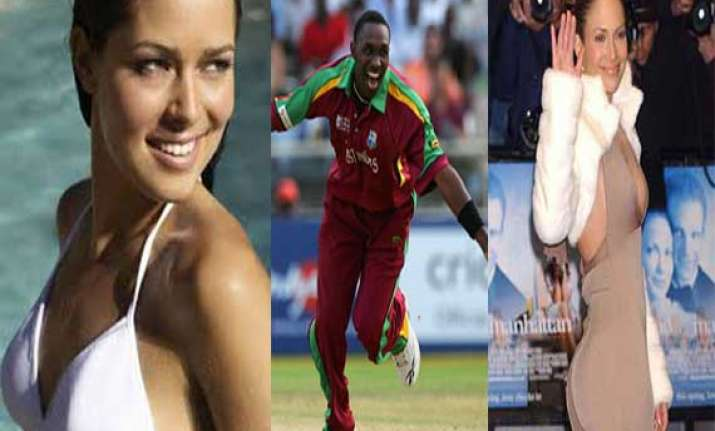 know why dwayne bravo has a crush on ana ivanovic and j lo
