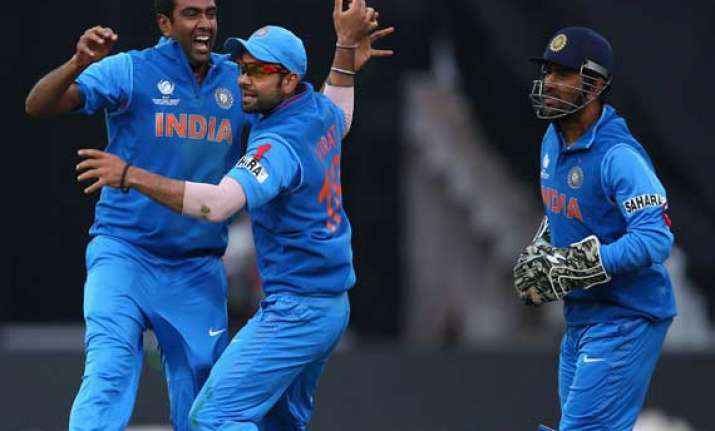 kohli bowlers give indians convincing win in warm up