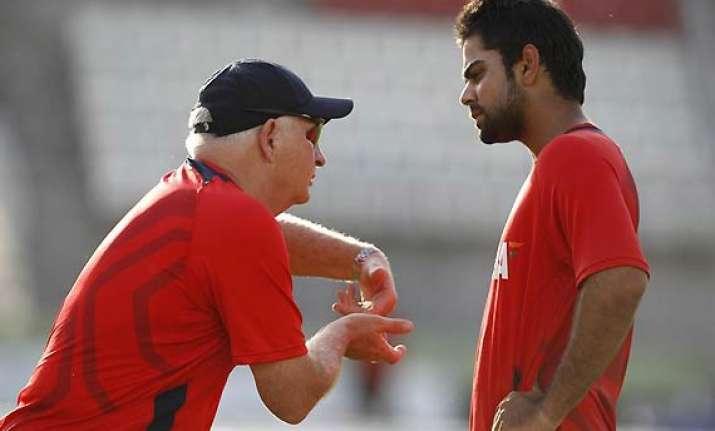 kohli ready for england challenge says his coach