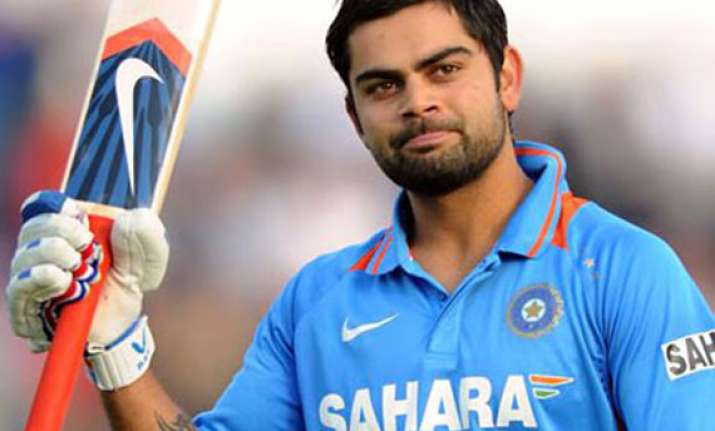 kohli doubtful for second odi