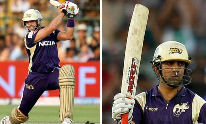 gambhir kallis strike quick fifties as kkr thrash rajasthan