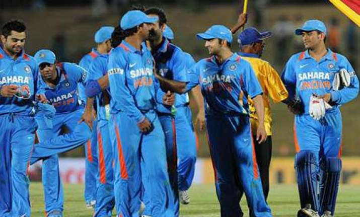 list of india s top ten odi run chases