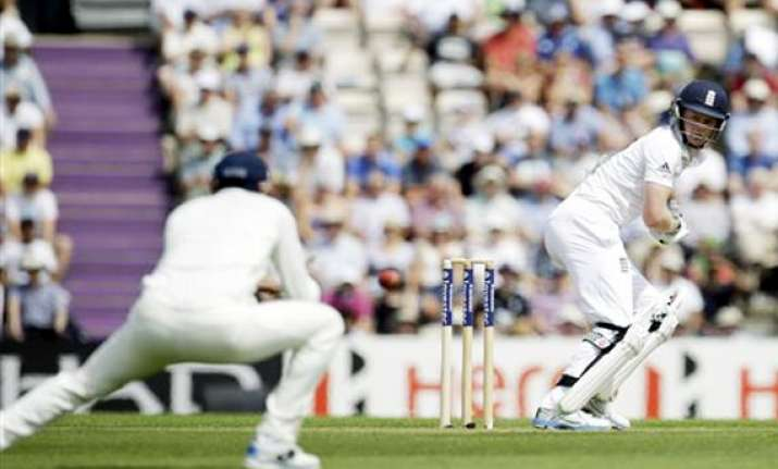 live reporting ind vs eng ballance s ton takes england to