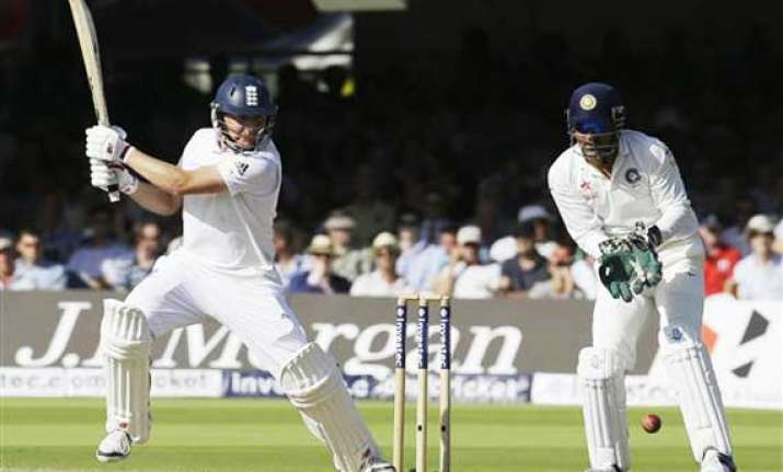 live reporting ind vs eng england 219/6 2nd test day 2 at