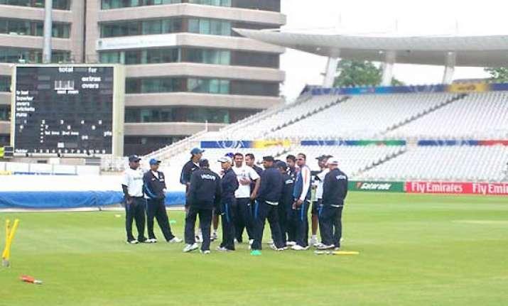 low in spirit team india undergoes practice