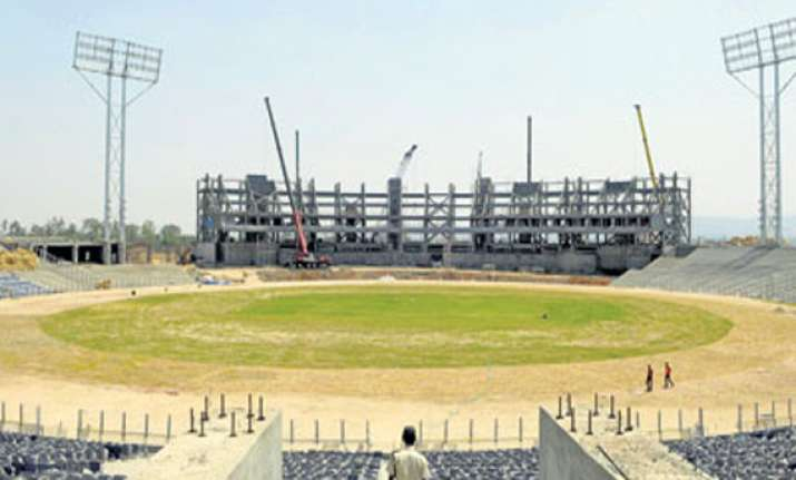 Mca 39 s gahunje stadium in pune set to host first ever odi for Mca construction