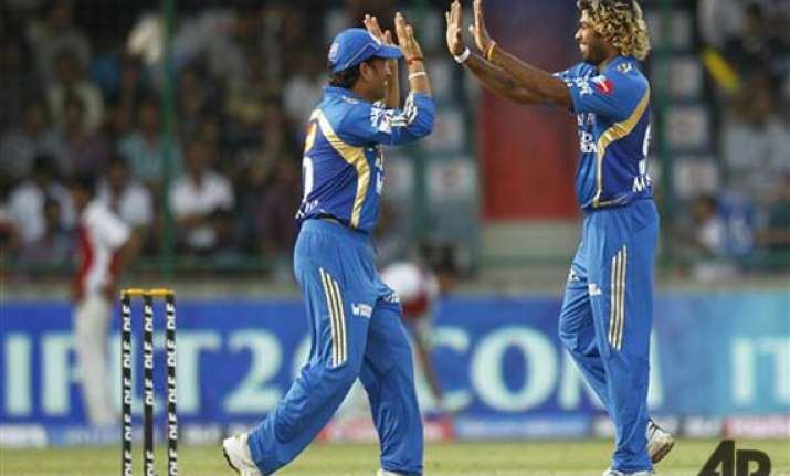 malinga s fiver helps mi rout dd by eight wickets