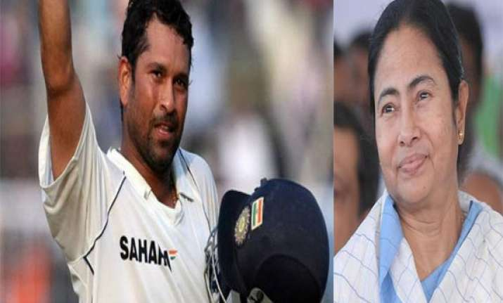 mamata plans a razzmatazz at eden for sachin tendulkar s