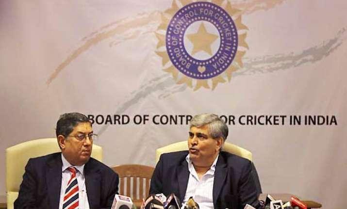 manohar srinivasan to decide action on india s debacle