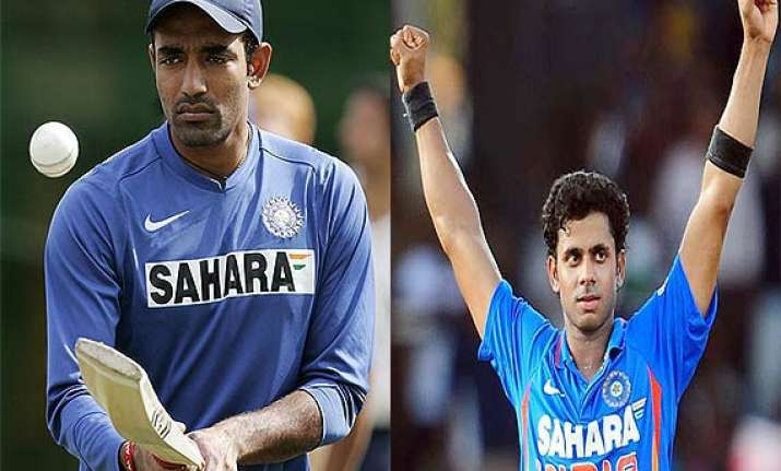 manoj tiwary robin uthappa named india a team captains for