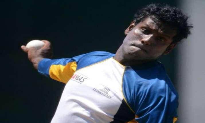 mathews named sri lanka s test odi captain