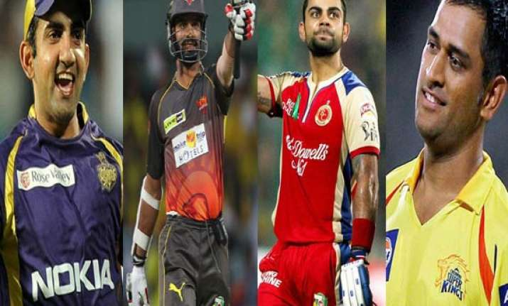 meet the eight captains leading their teams in ipl 7