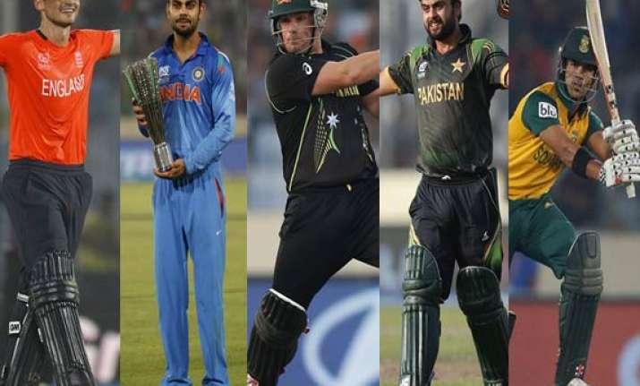meet the top 10 t20i batsmen after world t20 2014