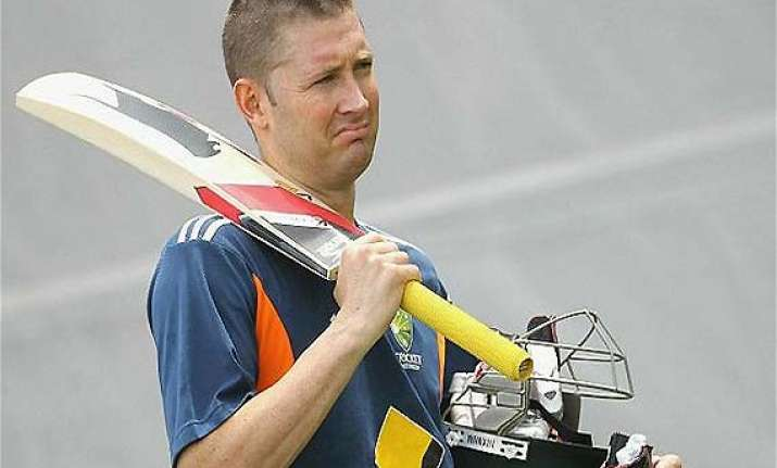 michael clarke rested from domestic twenty20