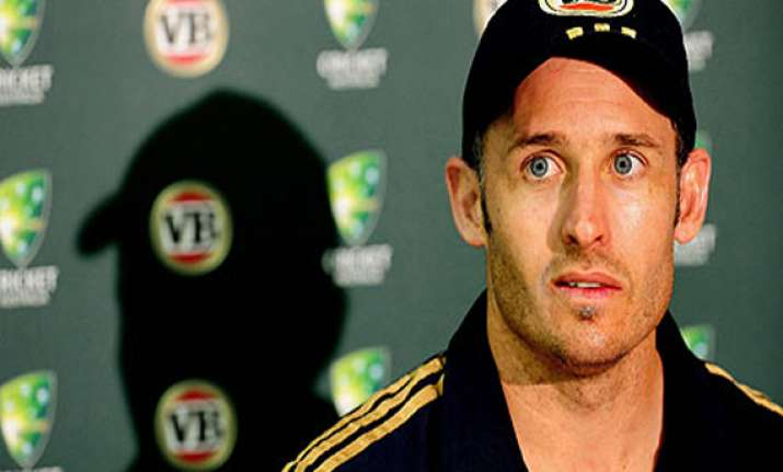 mike hussey to retire after sydney test