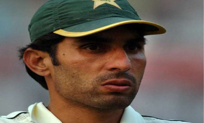 misbah upset over not consulted in team selection