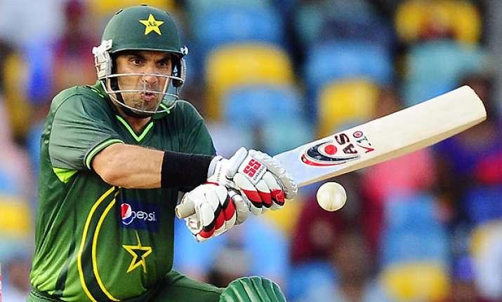 misbah to lead pakistan in series vs bangladesh