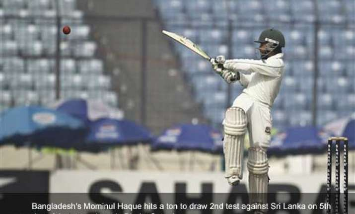 mominul haque helps bangladesh draw 2nd test against sri