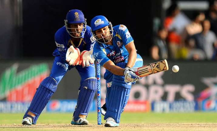 ipl7 mumbai indians stay afloat with a 25 run win against