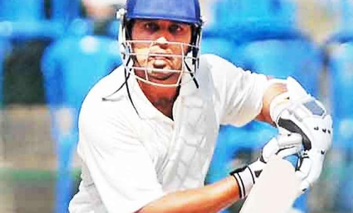 murali vijay scores unbeaten ton against mumbai in ranji