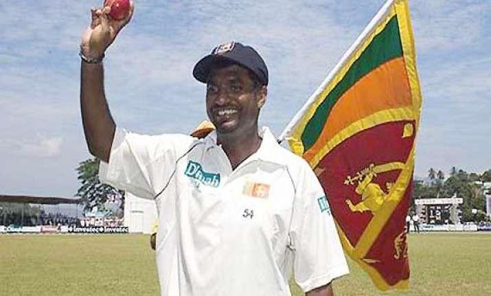 muralitharan aspired to grab 1 000 wickets