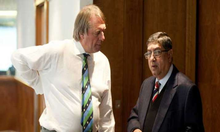 n.srinivasan to be the chairman of icc board