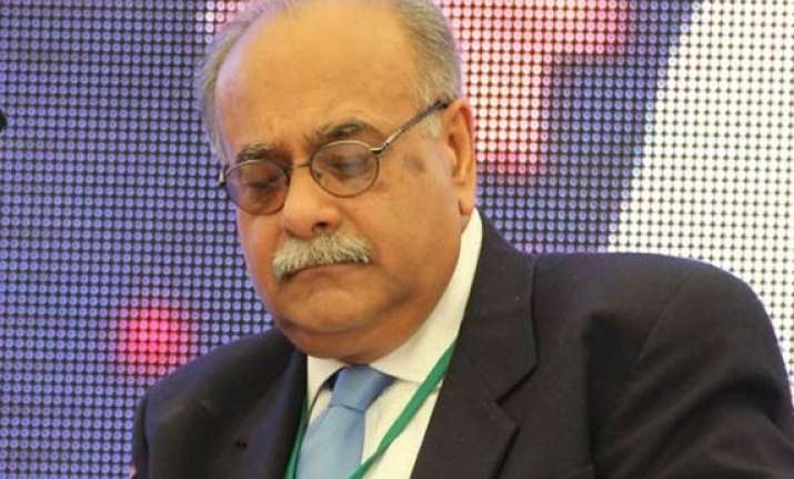 najam sethi elected as new pcb chairman