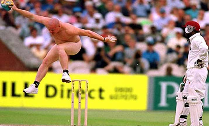naked intruders during cricket matches